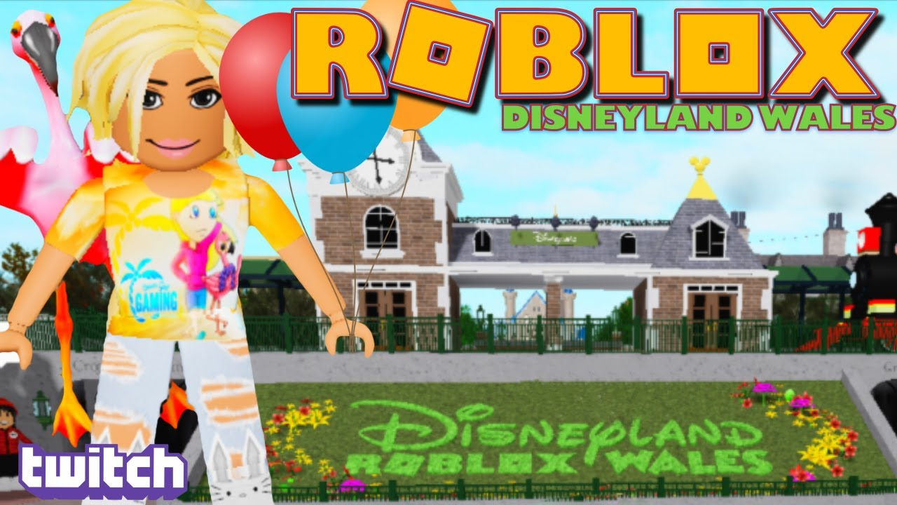 Playing Disneyland Wales Theme Park On Roblox For The First Time Twitch Replay Youtube