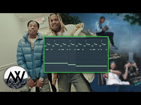 How To Make MELODIC Piano Beats For Lil Durk & Lil Baby! | FL Studio 20 Melody Tutorial