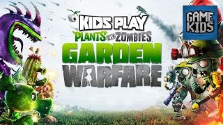 Millie, Geoff, And Griffon Play Plants Vs. Zombies: Garden Warfare - Kids Play