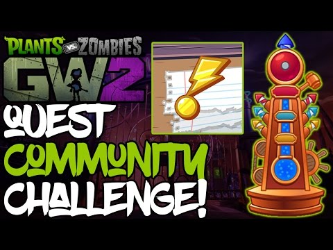 Plants vs. Zombies: Garden Warfare 2 Let's Play Part 31 - QUESTS CHALLENGE! (Xbox One)