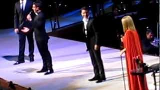 Barbra Streisand & II Volo live in Toronto, Canada Oct. 23, 2012 - 2 of 3