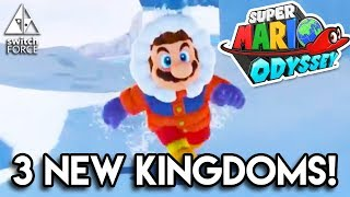 3 NEW KINGDOMS! NEW Super Mario Odyssey Gameplay - Snow, Seaside, Tropical Kingdoms