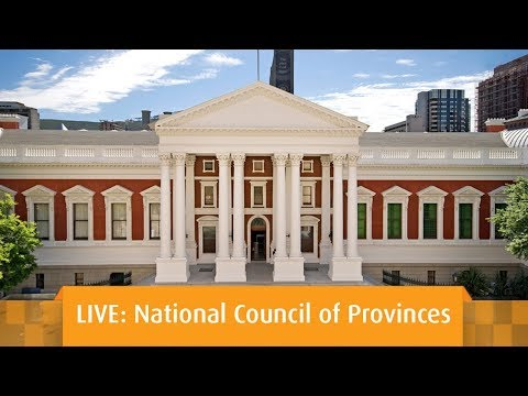 Plenary, National Council of Provinces, 22 May 2018