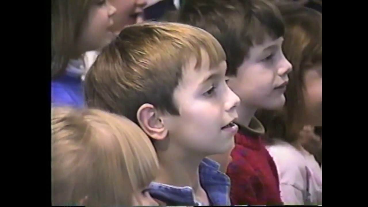 CES Christmas Sing Along  12-11-96