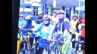 IPDS Hiulir Perak Police Cycle Ride - Hutan Melintang - April 2014