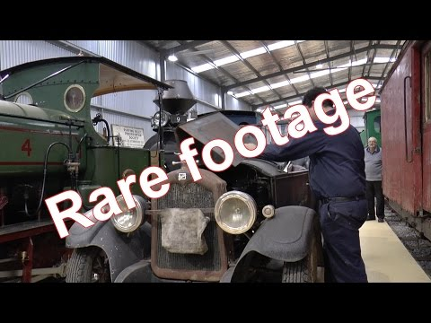 (HD) #RARE# Puffing Billy Museum - Australia 2015