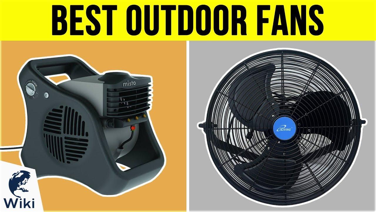 10 best outdoor fans 2019