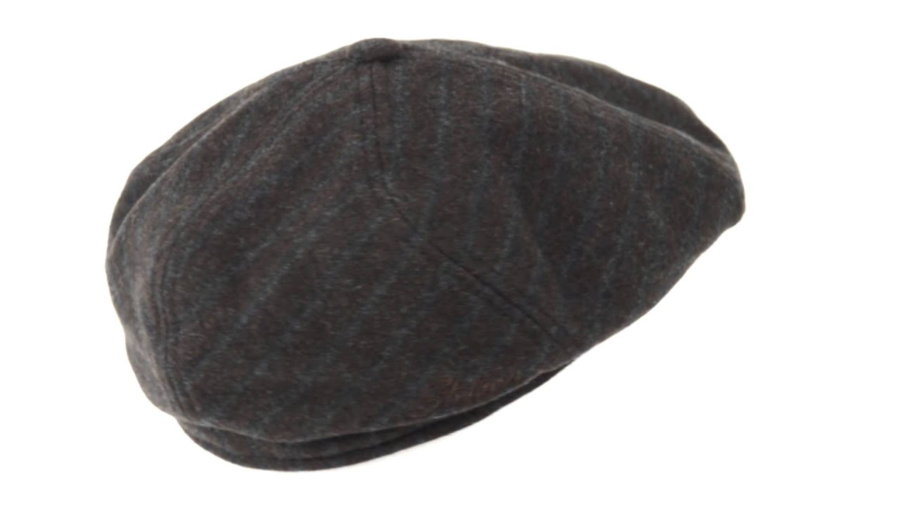 Stetson Brooklyn Newsboy Cap - Wool Blend 7c04bc3345c