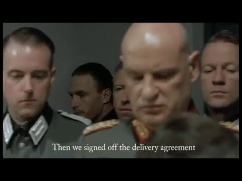 Hitler reacts to RCA Records demands to petiton them in person