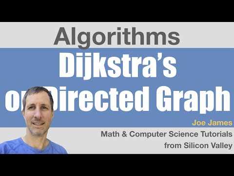 Dijkstras Algorithm Directed Graph Example
