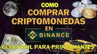 Cómo comprar Criptomonedas en Binance fácil | Bitcoinomista