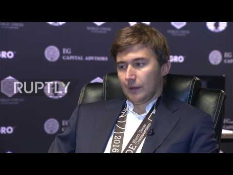USA: Karjakin states plans to 'return the chess crown to Russia' in RT exclusive
