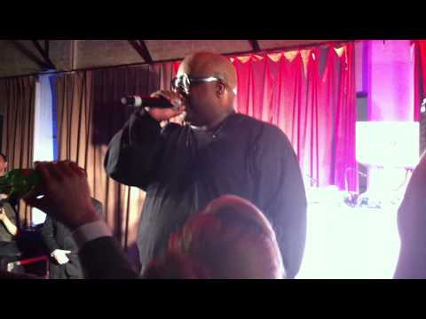 Cee Lo F**k You Live at GQ Super Bowl Party