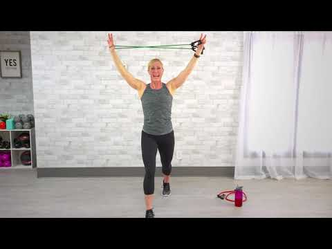 10Minute Total-Body Resistance Band Workout
