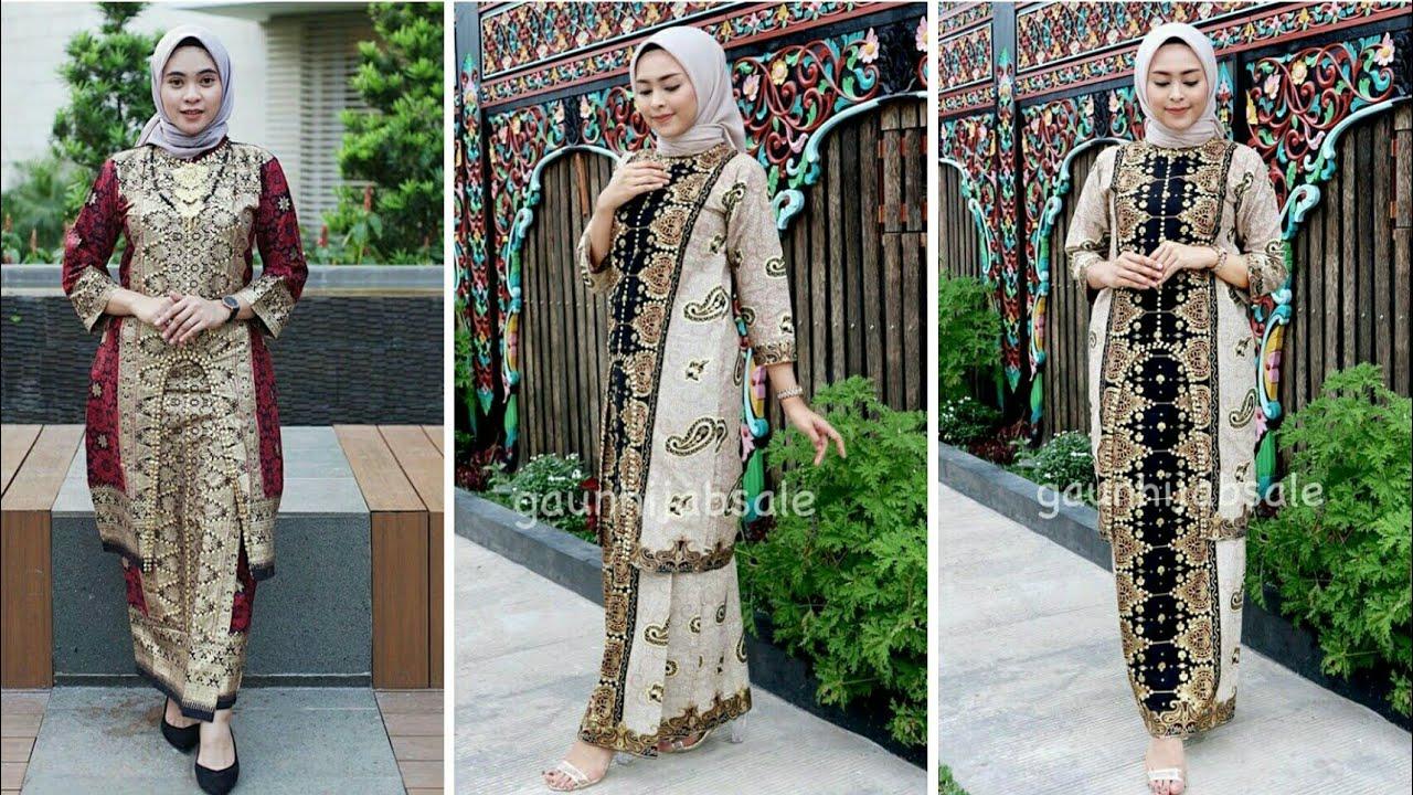 Model Baju Kebaya Songket Pesta Terbaru 10/10