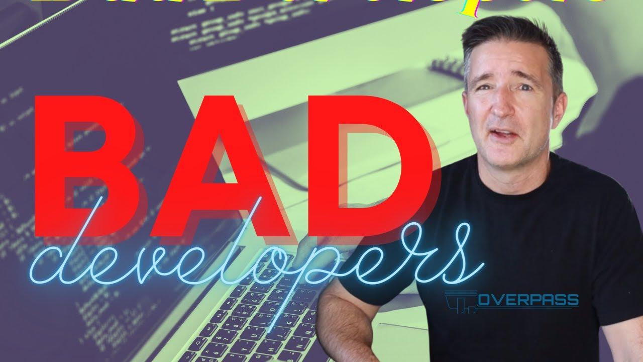 A Bad Software Developer Can Destroy Your Business