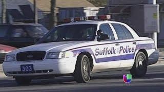 Un policía de NY fue detenido por perseguir a hispanos -- Noticiero Univisión