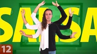 Cómo MOVER los BRAZOS al bailar SALSA | Aprende a Coordinar los Brazos y el Paso Básico