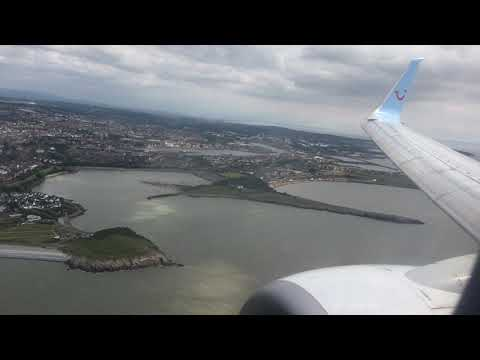Approach And Landing At Cardiff Airport 03/07/19