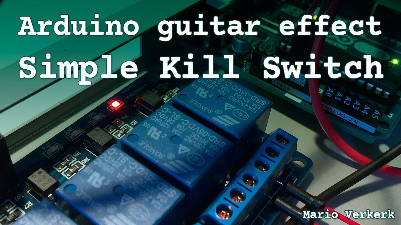 arduino guitar effect simple kill switch youtube. Black Bedroom Furniture Sets. Home Design Ideas