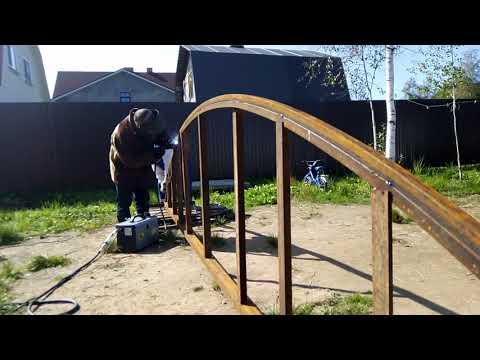 Как сделать арку из металла без трубогиба