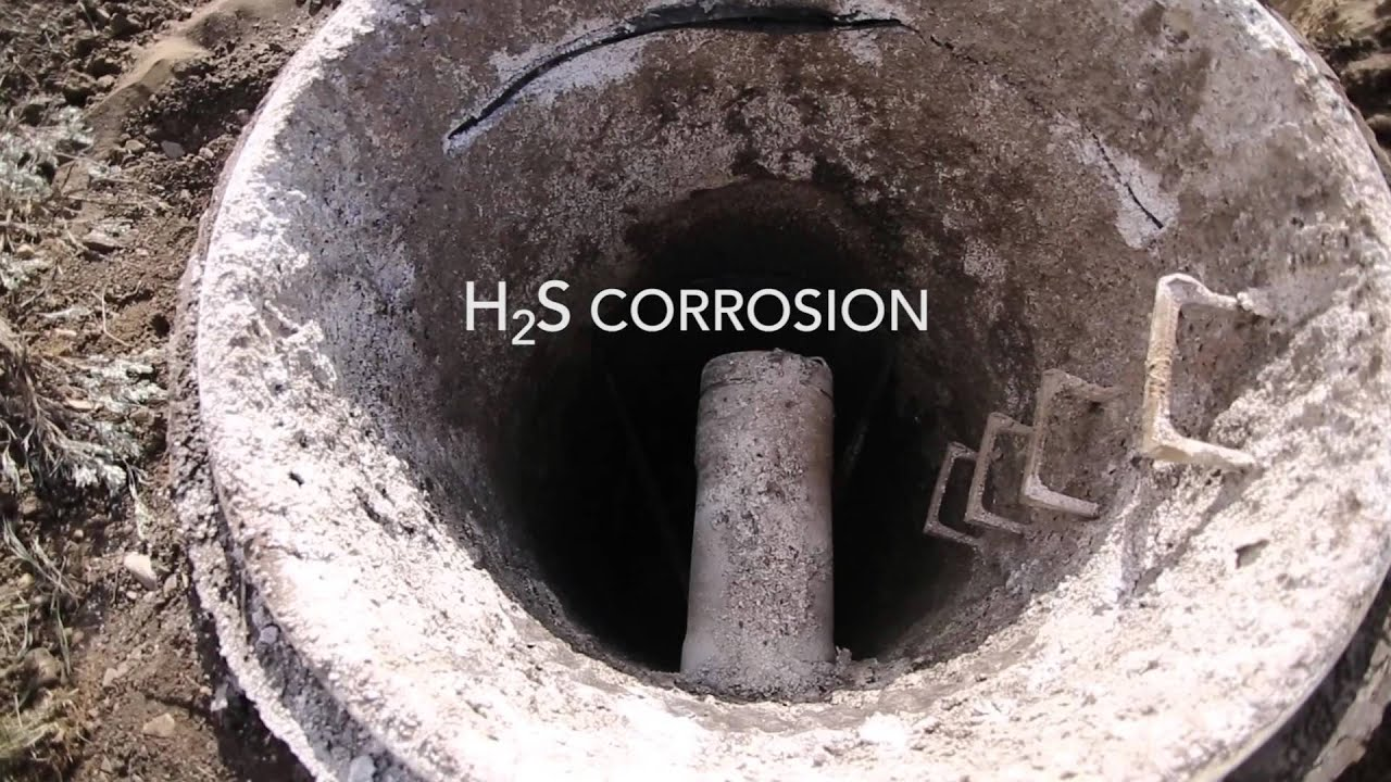 H2s Sewer Corrosion Effects Sewer Failure Armorock