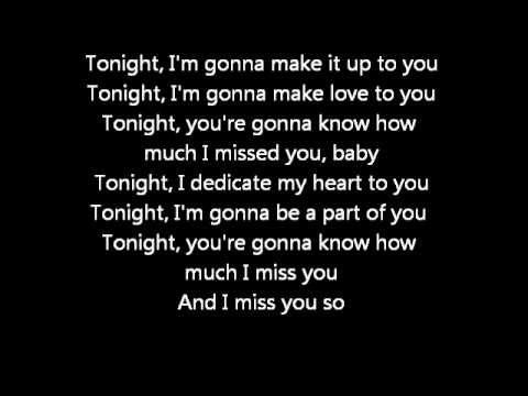 Westlife- Tonight (with lyrics)
