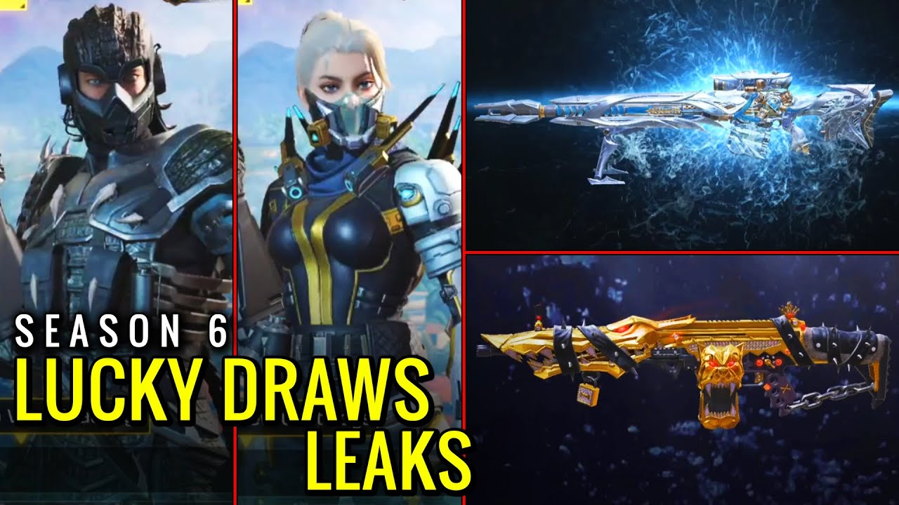 Season 6 has the best Lucky Draws... (COD Mobile Season 6 Lucky Draws Leaks)