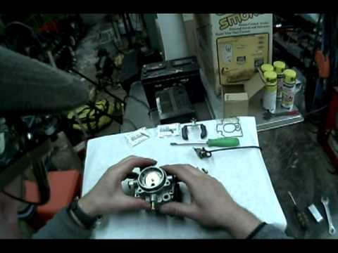 carb 20hp kawi disassembly and cleaning - youtube