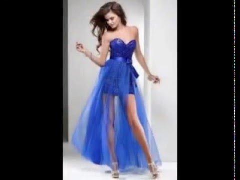 d3a8609b9 Fotos de Vestidos de 15 Años Cortos - YouTube