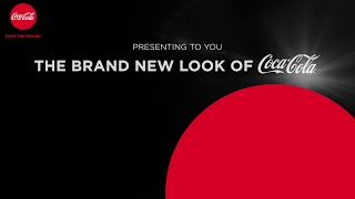 Presenting the brand new look of Coca-Cola