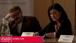 Lavinia Stan: Civil Society and Post-Communist Transitional Justice: The Romanian Case