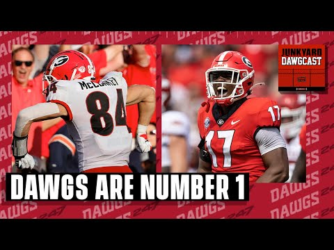 Georgia is the NUMBER ONE team in the country!   Junkyard Dawgcast