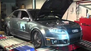 Elite Motorsports Customer RS4 Before + After HP Gains ECU T
