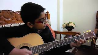 NANI TERI MORNI KO MOR LE GAYE ON ACOUSTIC GUITAR