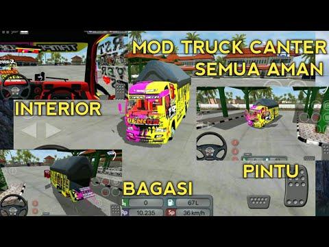 MOD Truck Canter Modif 5 livery Free Bussid Mod V2 9