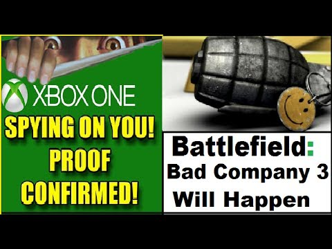 Xbox One Kinect. You Will Buy It!  Battlefield: Bad Company 3 Will Happen. PS4 Bundle
