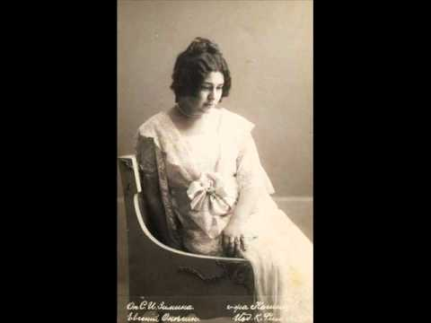 d438434f Nina Koshetz sings Tchaikovsky Pique Dame - YouTube