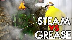 INDUSTRIAL STEAM CLEANER | How to Steam Clean Grease from Heavy Equipment