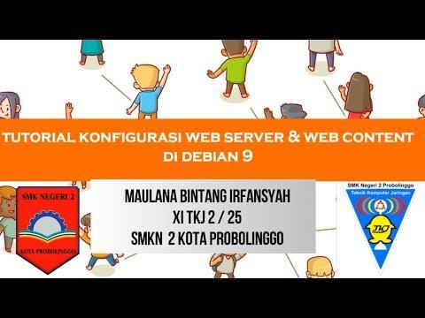 TUTORIAL WEB SERVER & WEB CONTENT DI DEBIAN 9 | WORDPRESS