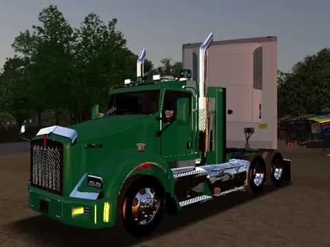 KENWORTH T800 - TRAILER THERMO KING,18 WOS HAULIN