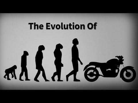 Evolution Of The Motorcycle Bicycle To Kawasaki Ninja