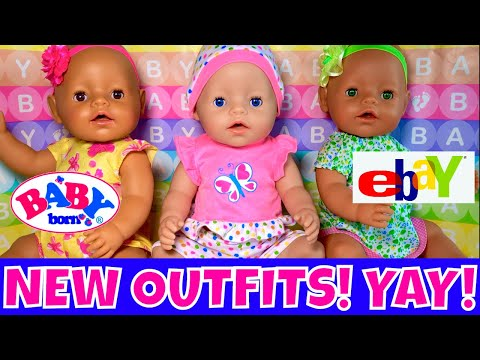 🛍Baby Born Girls Get New Outfits! 👚Cute Doll Clothes! 🤩