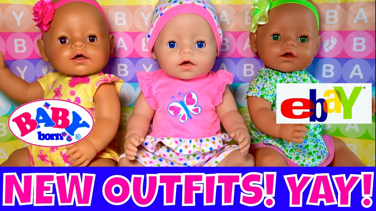 Baby Born Girls Get New Outfits! 👚Cute Doll Clothes ...