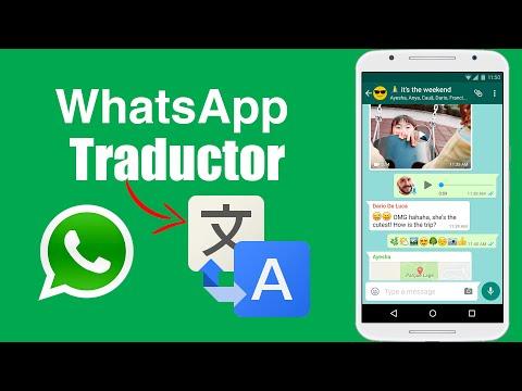 Traduce WhatsApp en tiempo Real a cualquier idioma, Ingles, Frances, Chino, Japones o Italiano
