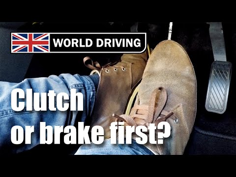 Clutch Or Brake First When Stopping Or Slowing Down? Driving A Manual Car Tips