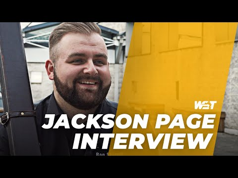 JACKSON PAGE Secures Return To Tour!