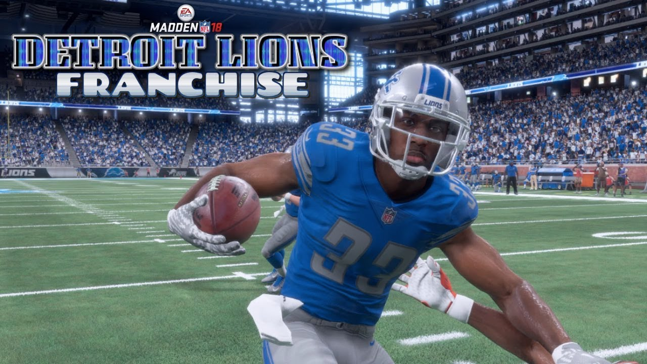 Madden NFL 18 Detroit Lions Franchise - Detroit Lions vs Cleveland Browns (EP9 Lions vs Browns)