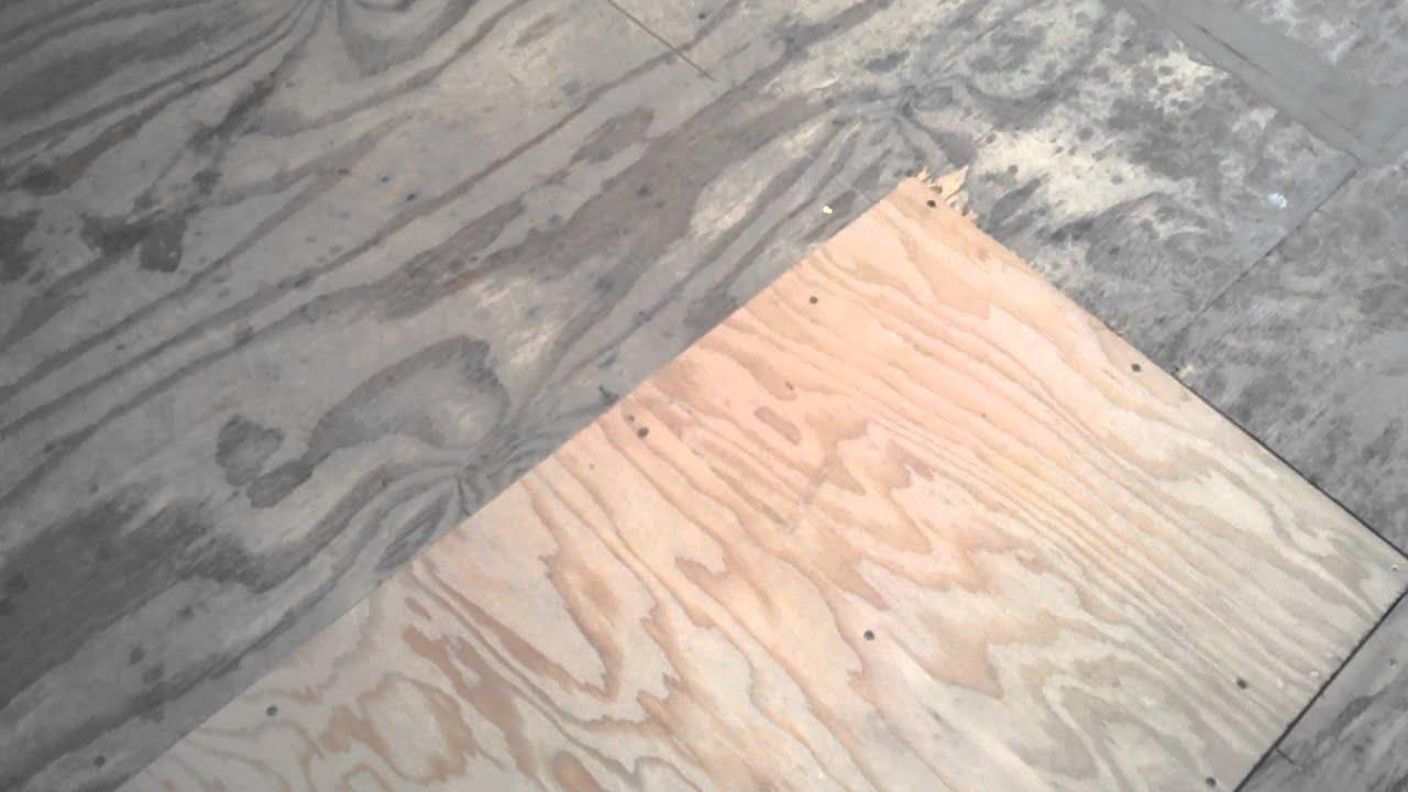 Subfloor Patches Primer Sealing Cracks Amp Seams Youtube