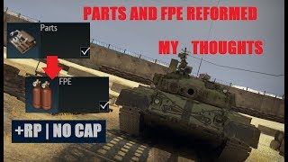 War Thunder: THE PARTS/FPE REFORM | WHAT WE CAN EXPECT